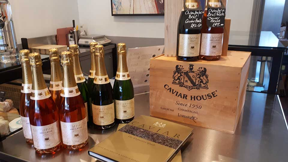 Caviar House Champagne Offer