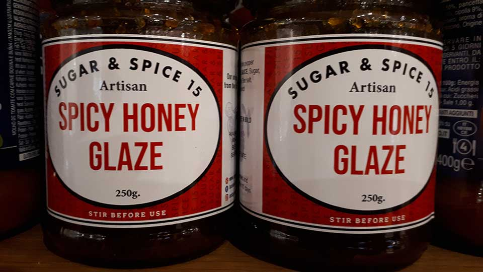Spicy Honey Glaze
