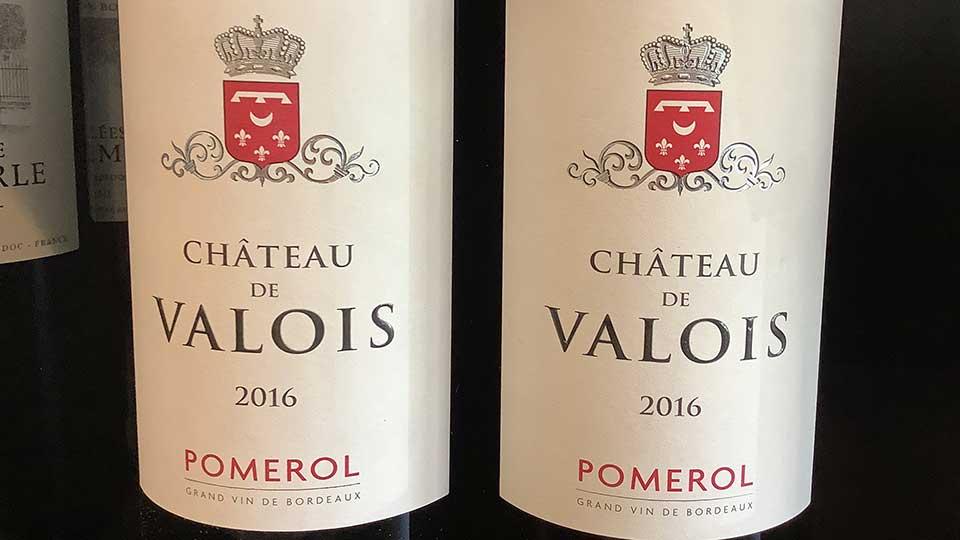 Chateau de Valois Pomerol 2016