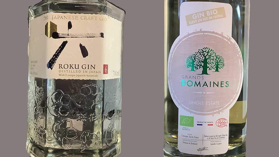 Roku and Grands Domaines Gin