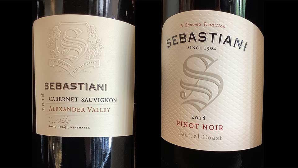 Sebastiani wines