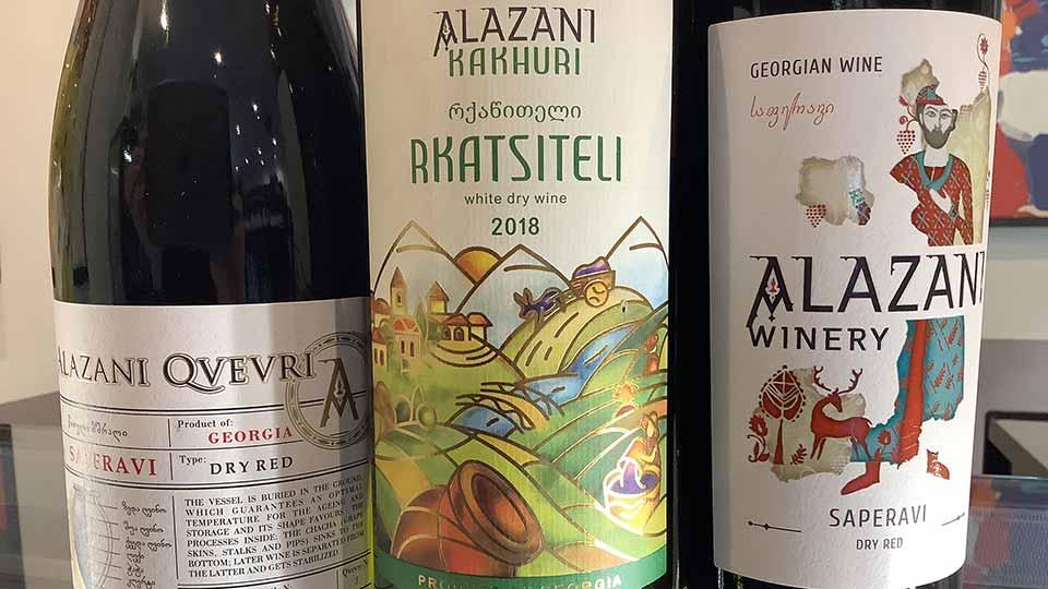 Saturday Wine Tasting Georgia Wines